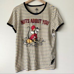 Disney Brand Dumbo Nuts About You Mouse Shirt
